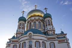 Dormition Cathedral in Omsk