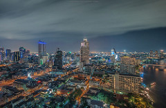 Cool night - Illumination Bangkok