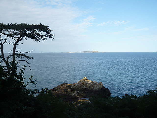 View from Guernsey