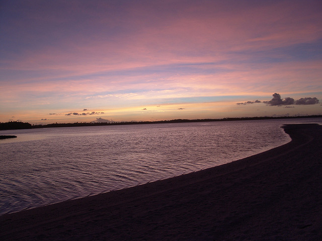 Sunset at Turtle Cove