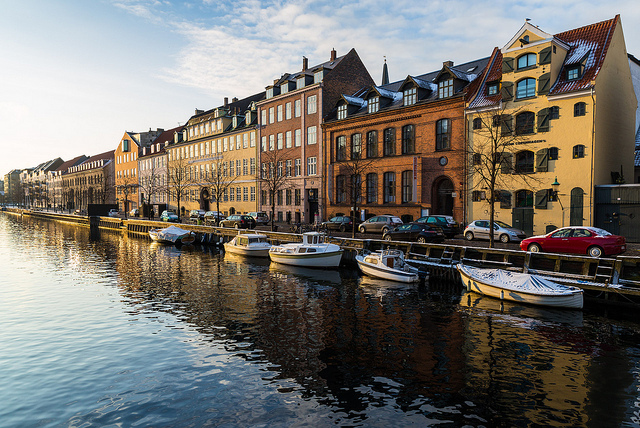 Winter images - Christianshavns canal