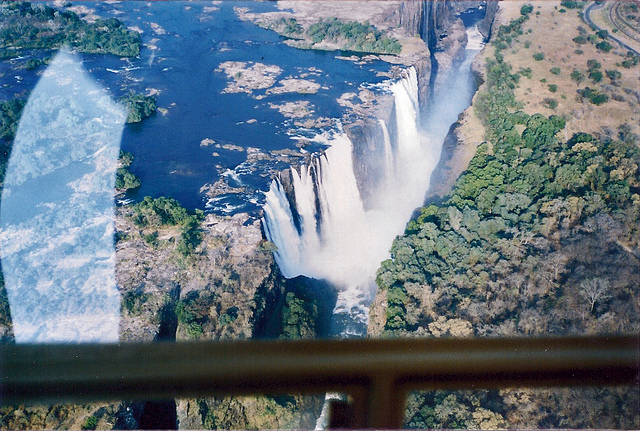 Zimbabwe - Victoria Falls from a Helicopter - 1994